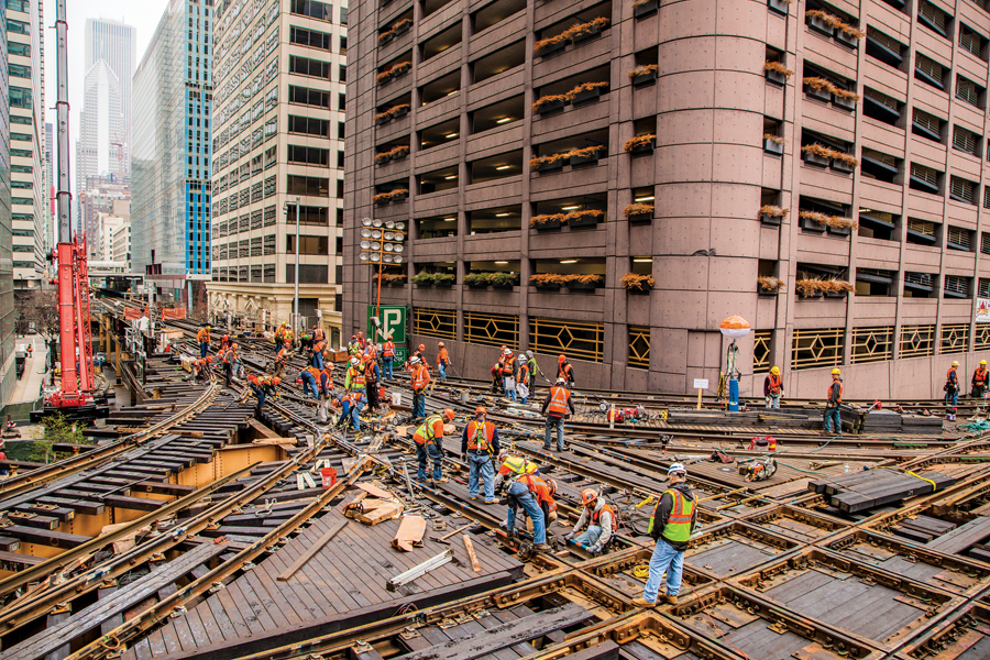 Loop Track Renewal, Chicago