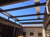 Kitchell Celebrates Steel Topping-Out at SDSU's Page Pavilion