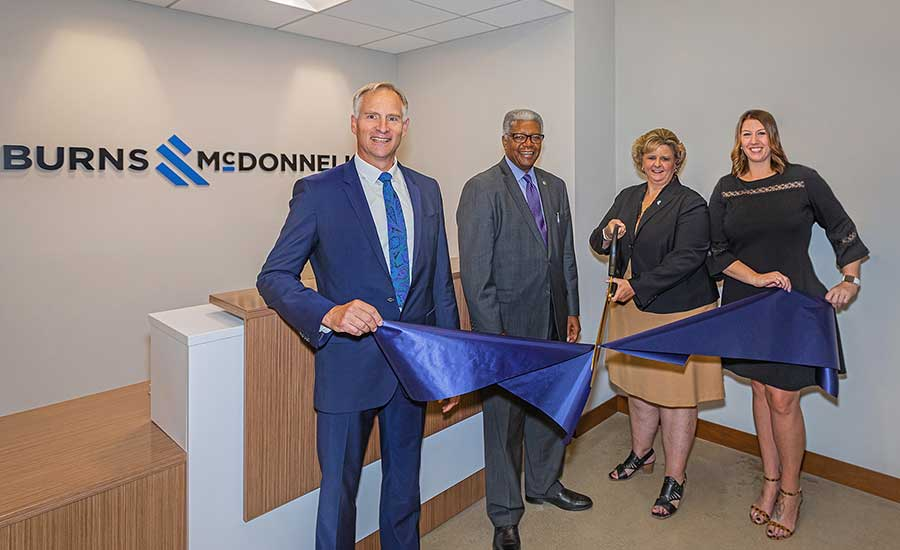 Burns & McDonnell Ribbon Cutting
