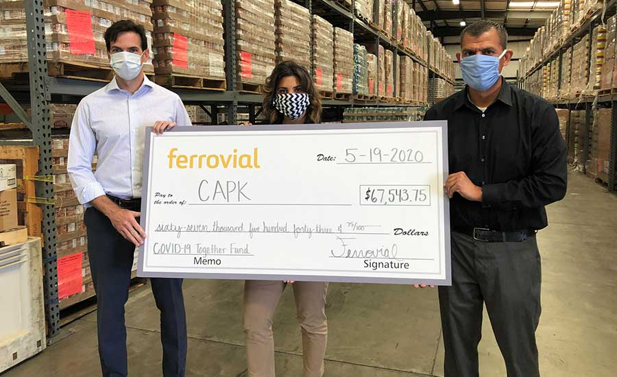 Kern County Food Bank | Ferrovial