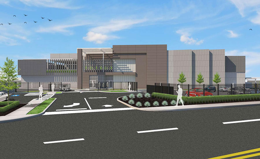 Octa entrance rendering