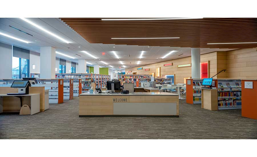Brambleton Library | Chesapeake Contracting Group