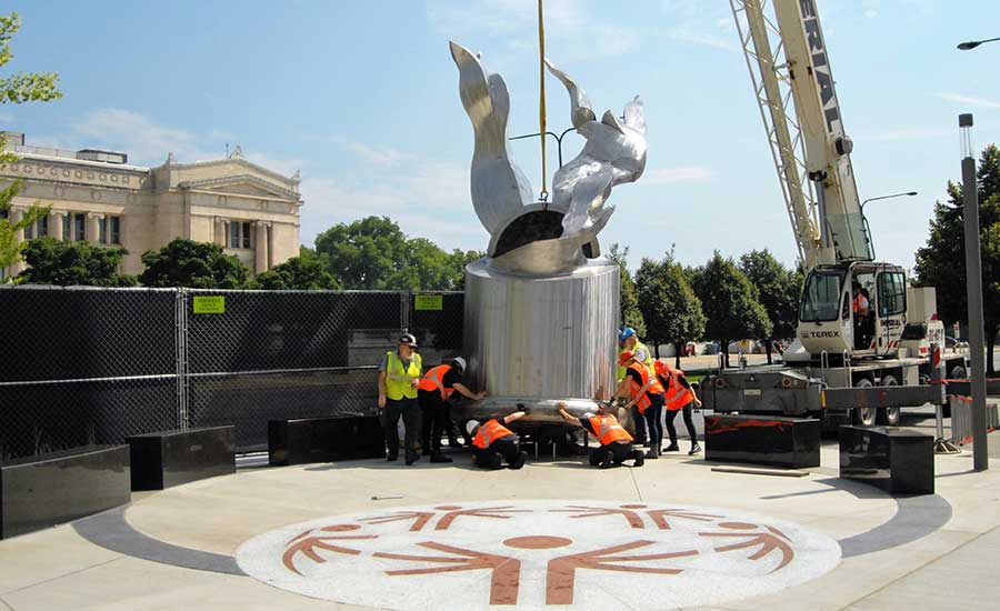 Special Olympics Eternal Flame of Hope | McHugh Construction