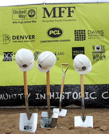 Shovels in the Ground and United Way Building Partners