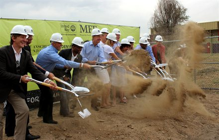 Community Members Break Ground on New Mile High United Way Building by smvrabel
