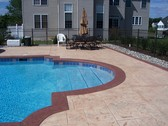 Residential Home Pool Deck
