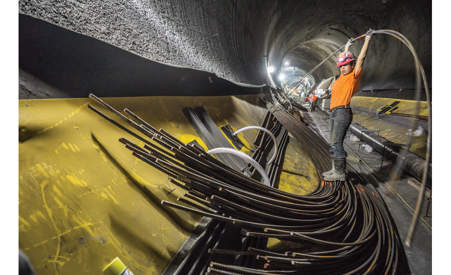 East Side Access tunnel