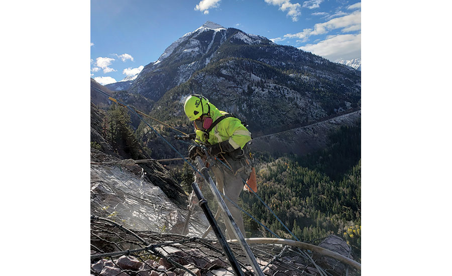 Rockfall Remediation, Ouray, Colo.