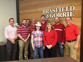 Brasfield & Gorrie Goes Red on National Wear Red Day