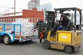 Brady Associates Donate 3,200 Cans for Food at the Durham Food Bank