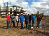 Valencia College's Building Construction Tech Students Tour Building Project Led by Charles Perry Partners