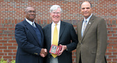 Don Brady Honored For Service to NC A&T