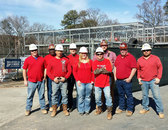 Brasfield & Gorrie Goes Red on National Wear Red Day 2015