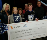"Stantec Teams Up With Tampa Bay Lightning for Third Season In the ""What Makes a Hero"" Essay Contest"