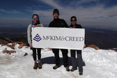Engineers Climb Pikes Peak for Water for People