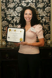 Energy Air HR Coordinator, Olga Montero-Glover Accepts the Company's Four Star TEAM Award