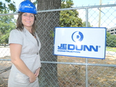 JE Dunn's Wendy Brantley chosen for Leadership Cobb pictured in Front of New JE Dunn East Region Headquarters