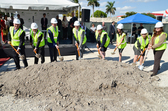 Groundbreaking on Doral's New Element Hotel