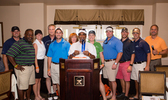 JE Dunn Associates a Formidable Force in 2014 Orange Duffel Bag Golf