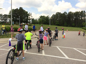 Bike to School Day and Bike Safety Clinic at Laurel Park Elementary School  Was a Success!