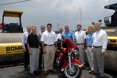 BOMAG, Nortrax Southeast Give Away Harley to King of the Road Winner