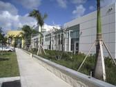 Sunscreens at U.S. Citizenship and Immigration Services center in Miami