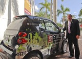 Stiles Chairman, CEO Terry Stiles Showcases Company's New Logo, Green Commitment