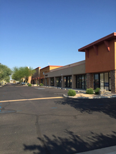 75th & Peoria Shopping Center, new ownership, renamed Santana Village Crossing and property improvements doubles occupancy