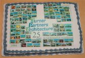 Turner Partners Architecture Turns 25 Cake