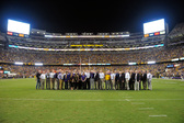 LSU Tiger Stadium South End Zone Expansion Project Team Honored in Half-Time Presentation