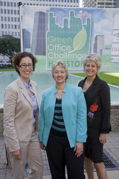 Houston Green Office Challenge With Mayor Parker