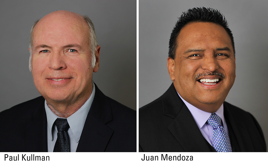 Paul Kullman, AIA, and Juan Mendoza Jr., PMI