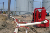 Wellpoint Dewatering System in Alvin Texas