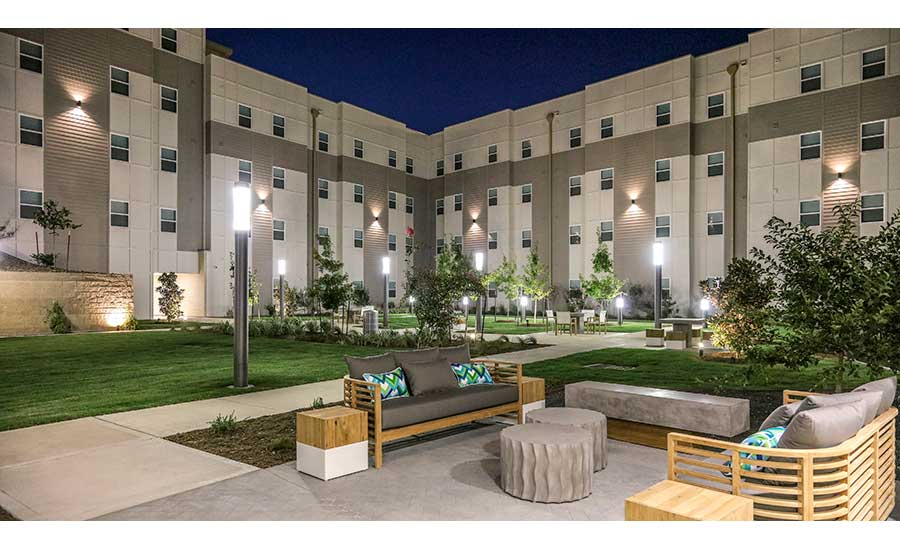 Blinn College's Mill Creek Residence Hall | Moss Construction and Hunt Companies