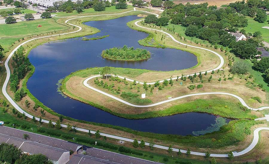 Clear Lake flood control project | Lockwood, Andrews & Newnam, Inc.