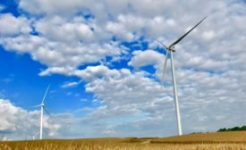 MidAmerican's North English Wind Farm