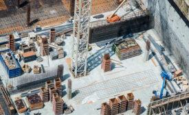 construction site rendering