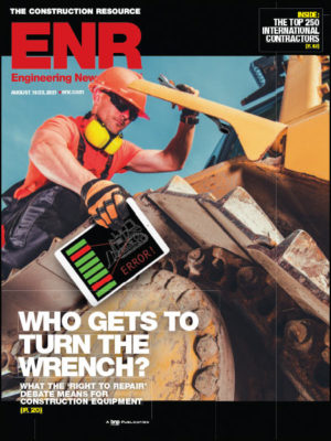 ENR August 23, 2021 issue cover