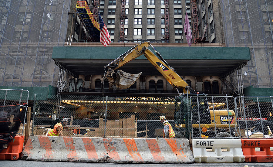 New York Shuts More Projects As COVID-19 Cases Soar