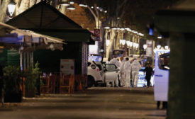 barcelona security terror van attack