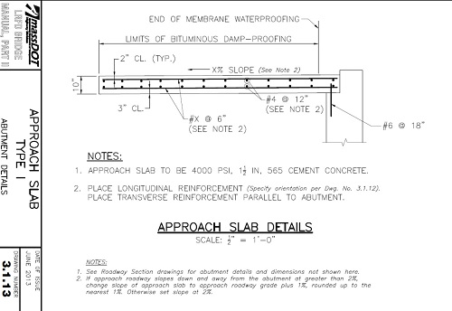 Approach Slabs for Bridge Approach Slabs | 2021-05-03