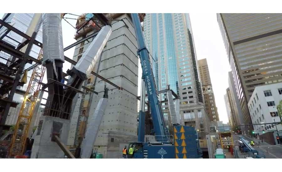20 Columns Raise Seattle High-Rise Above Downtown | 2018-07