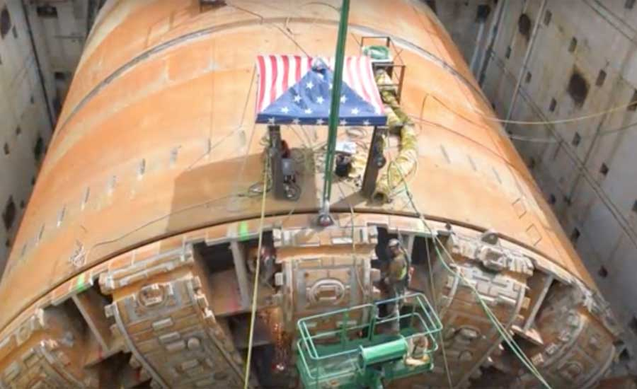 VIDEO: Removal Ongoing of Bertha from Seattle Tunnel