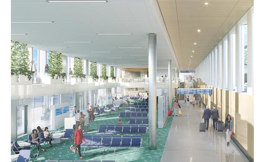 Pdx To Demolish Concourse A As Plans Continue For Expansions At Concourses B And E Engineering News Record