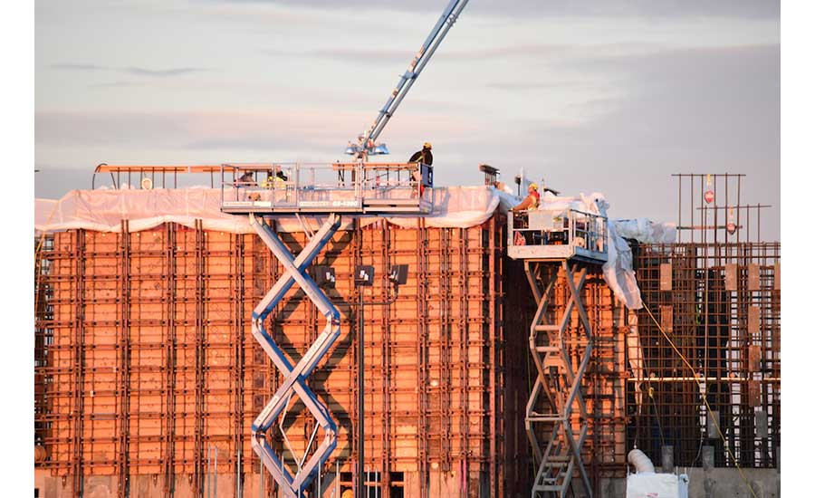 Support building reaches milestone in Hanford Vit Plant