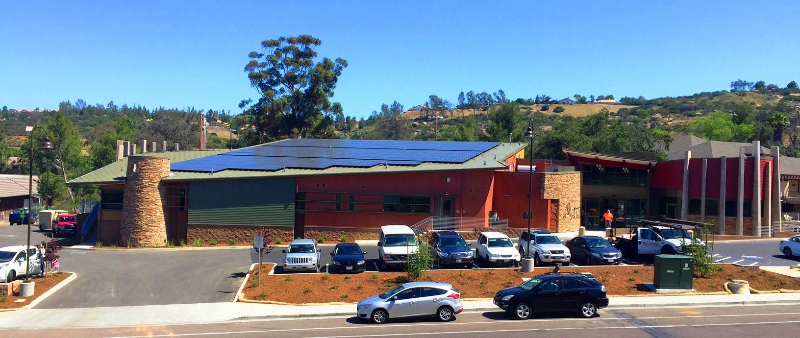 San Diego County Gets Area S First Net Zero Alpine Library