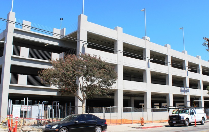 McCormick Construction Parking Structure