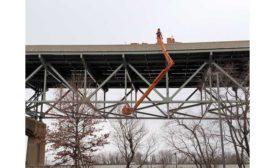 Delaware River Bridge repair