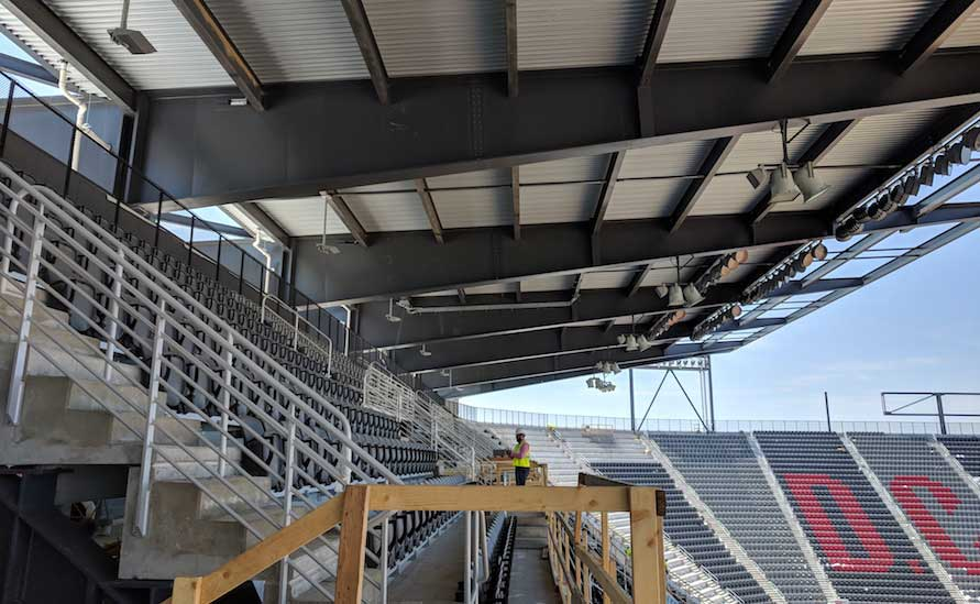 Project Team Delivers Fast-Tracked Soccer Stadium in Time for Opening Match