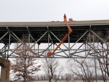 Delaware River Bridge repair